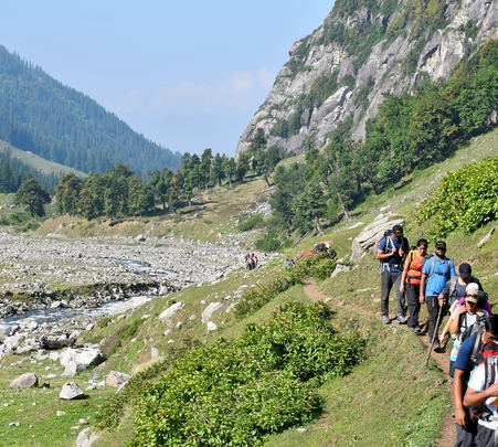 Trek to Hampta Pass and Chandra Taal