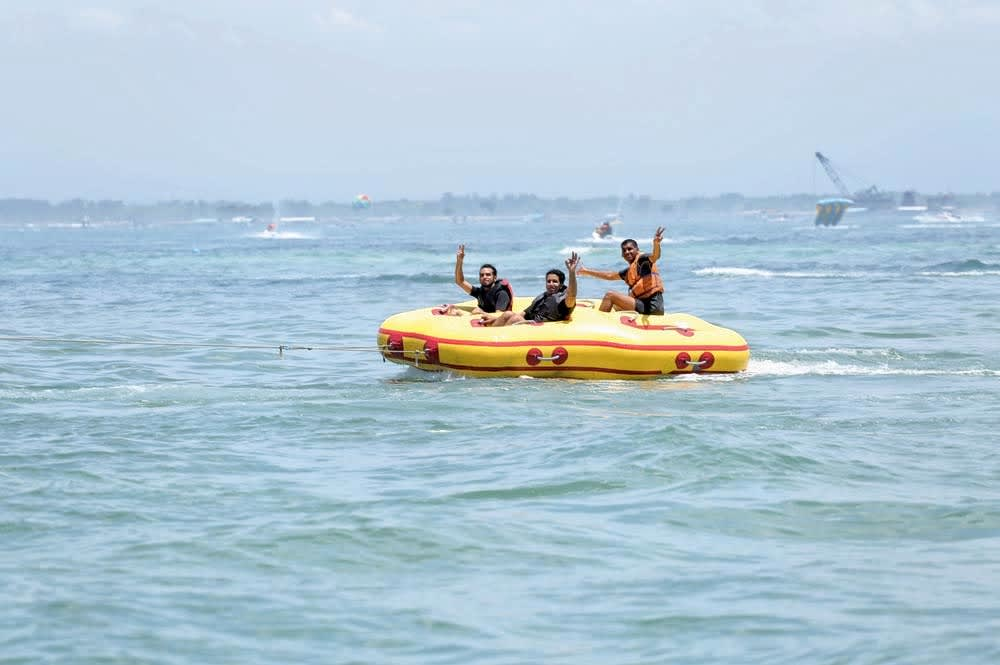 Donut Boat Ride at South Kuta in Bali