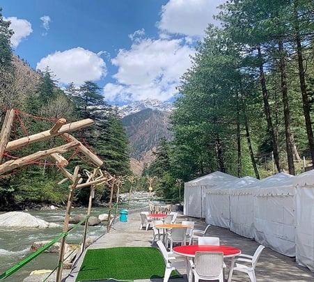 Riverside Stay Experience in Kasol Flat 35% off