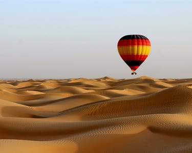 Hot Air Balloon Ride in Dubai - Flat 20% off