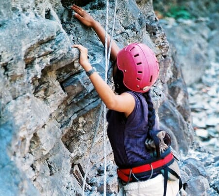 Rappeling, Rock Climbing and Trekking in Rishikesh