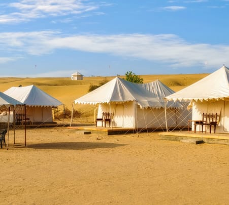 Camping in Jaisalmer with Jeep Safari Flat 20% off