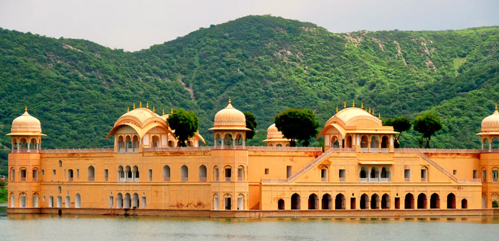 Image result for Witness the beautiful sights of Jal Mahal