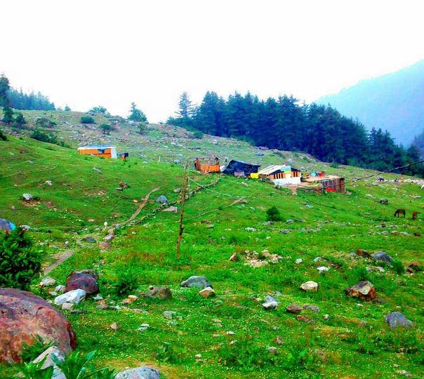 Camp and Trek to Kheer Ganga