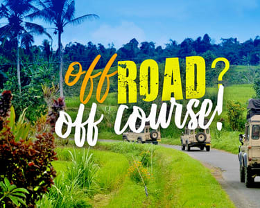 4 Wheel Drive Landrover Safari & Fin Komodo ATV tour