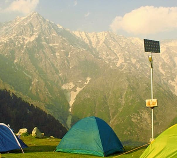 Camping at Triund in Dharamkot