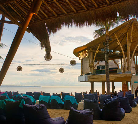 Finns Beach Club Bali Day Pass, Flat 25% off