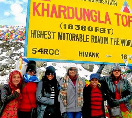 Leh Ladakh Woman Tour 2019