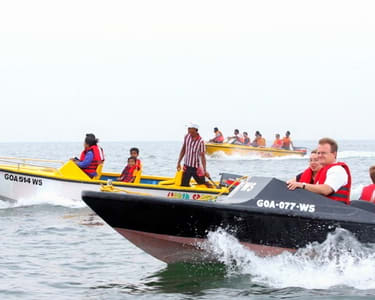Speed Boating at Om Beach