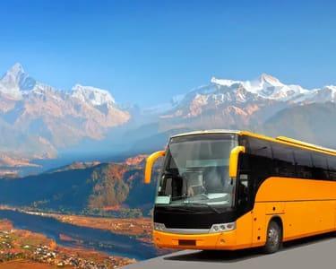 Pokhara to Kathmandu Bus Transfers - Flat 15% off