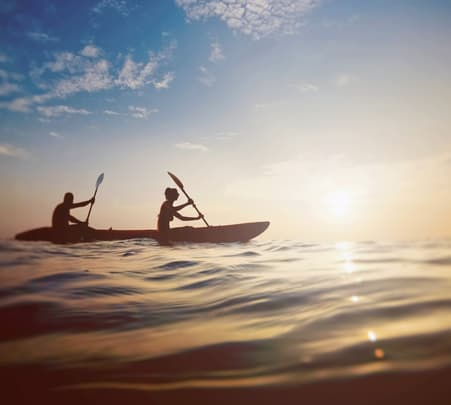 Sea Kayaking at Mandwa Beach Flat 30% off