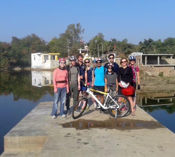 Cycling in the City of Udaipur