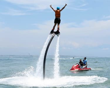 Fly-board Experience at South Kuta in Bali