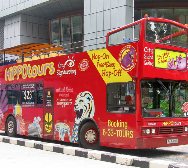 Singapore Hop-on Hop-off Sightseeing Bus Tour