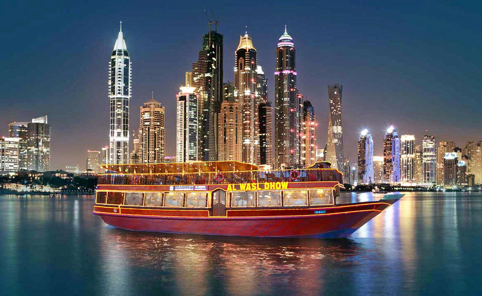 Dhow Cruise With Dubai City Tour And Burj Khalifa