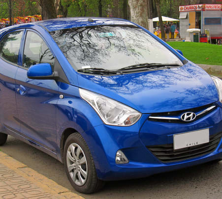 Rent a Hyundai Eon in Hyderabad