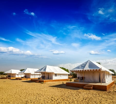 Luxury Desert Camping in Jaisalmer