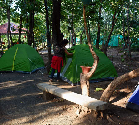 Camping Experience near Bhopal