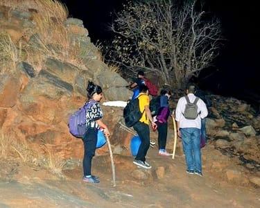 Kabbaladurga Night Trek in Kanakapura
