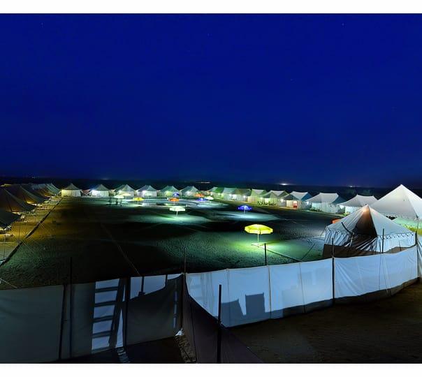 Luxury Swiss Tent Stay in Jaisalmer