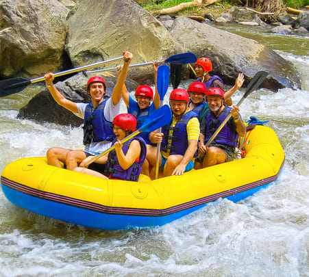 Combo: Ayung River Rafting with Spa Flat 25% off