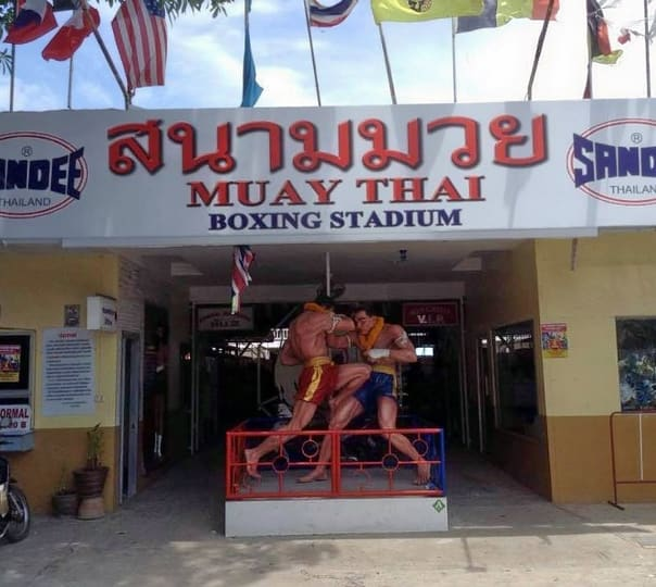 Training in Muay Thai Gym in Pattaya, Thailand