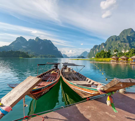 Cheow Lan Lake Tour in Khao Sok National Park