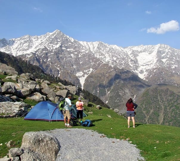 Snow Line Trek in Himachal Pradesh
