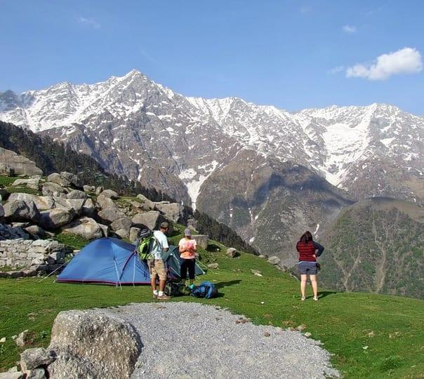 Snow Line Trek in Himachal Pradesh