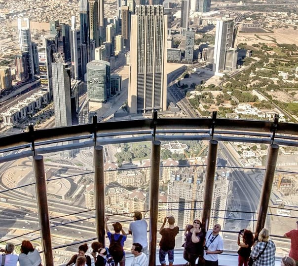 Burj Khalifa at the Top with Transfers