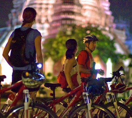 Night Biking in Bangkok