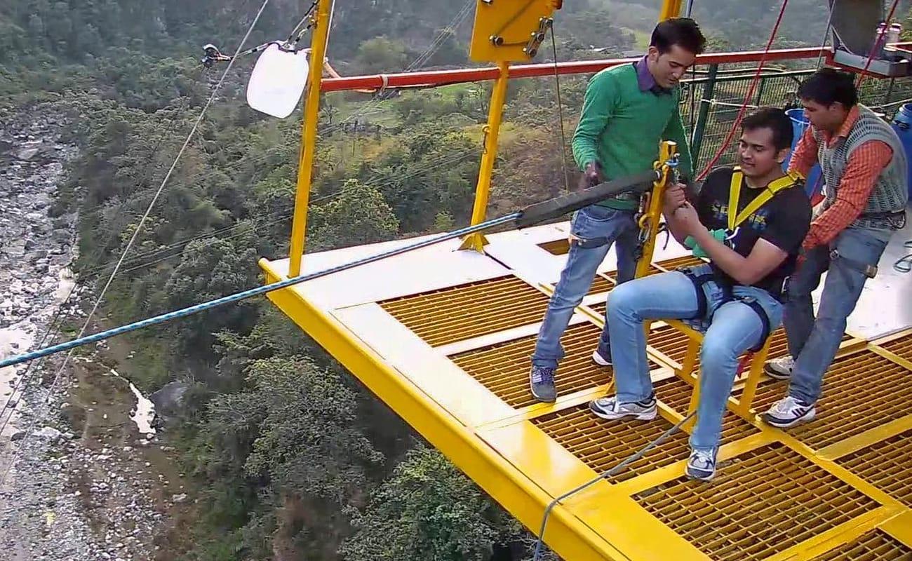Giant Swing In Rishikesh   Thrillophilia