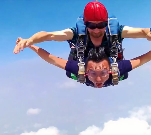 Skydiving in Pattaya