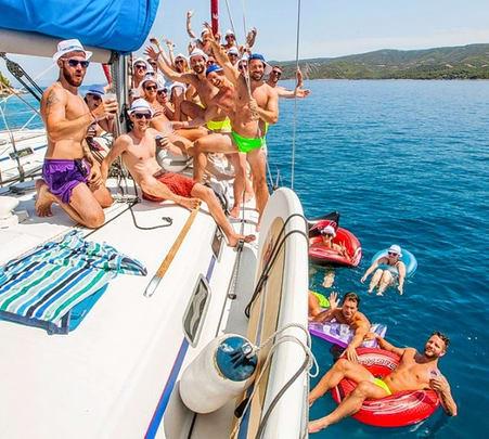 Croatia Island Hopping on a Yacht