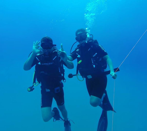 Open Water and Advance Open Water Diving Course in Colombo