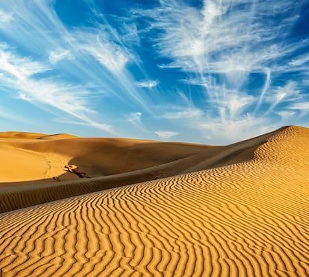 Day Trip to Sam Sand Dunes with Kuldhara