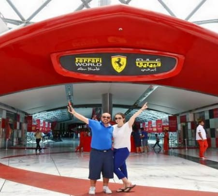 Full-day Ferrari World & Yas Island Water Park Abu Dhabi