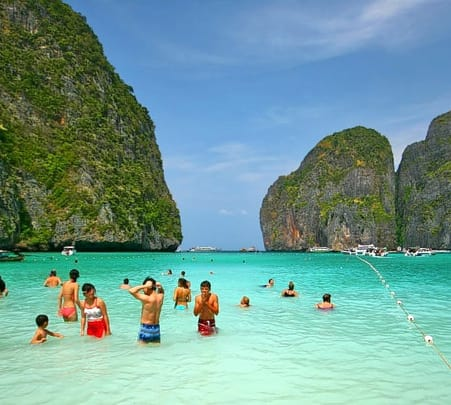 Snorkelling, Kayaking and Rock Climbing in Krabi Island, Thailand