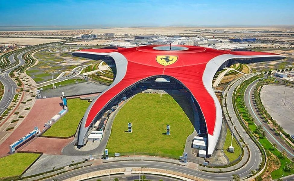 Visit the Biggest Theme Park in Abu Dhabi – The Ferrari World