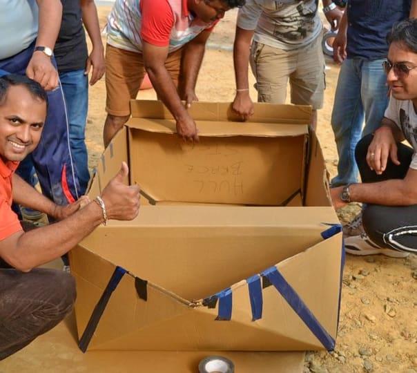 Kontiki Boat Building Challenge