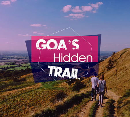 Trekking at Udaan Dongor in Goa