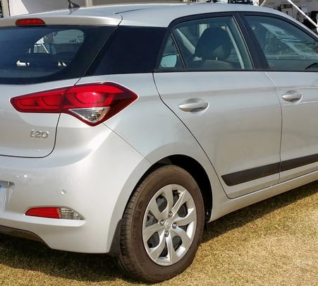 Rent a Hyundai I20 in Bangalore