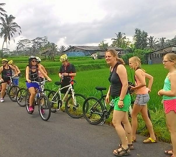 Cycling and Sunset Tour at Tanah Lot