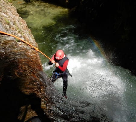 Private Canyoning Tour at Ping Nam Stream, Hong Kong