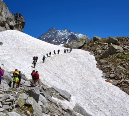 Hampta Pass Trek from Delhi
