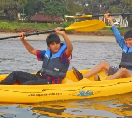 Kayaking in Goa's Bambolim Beach (Morning) - Flat 14% Off