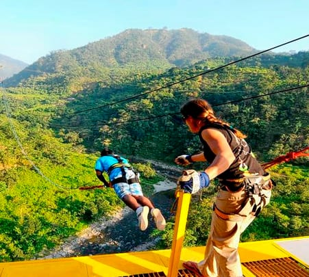 Adventure Sports in Mohan Chatti Village, Rishikesh