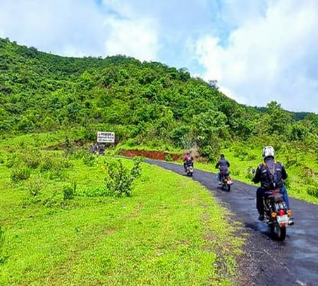 Bike Ride & Trek to Tung Tikona Fort