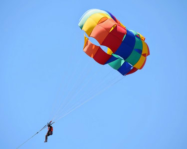 Solo and Tandem Parasailing at Jakkur Airfield Flat 28% Off