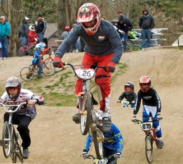 Bmx Racing at Lai Chi Kok in Hong Kong